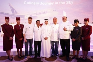 Qatar Airways Introduces World Renowned Chefs To Award-winning Five Star Service